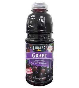 Langers Grape Juice From Concentrate 946Ml