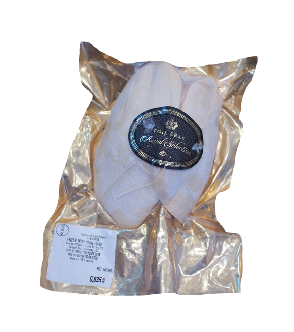ROYAL SELECTION Foie Gras Goose liver 600-700g./Pack