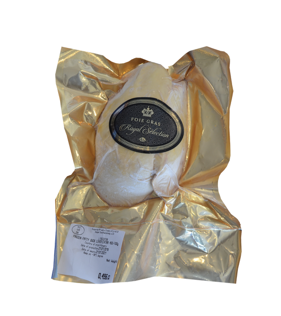 ROYAL SELECTION Foie Gras Duck liver 600-700g/Pack