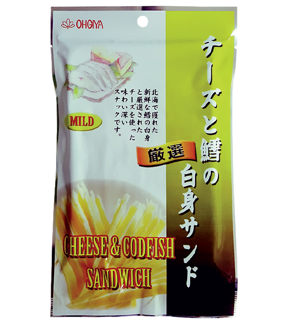 Ohgiya Cheese & Codfish Sandwish 45G
