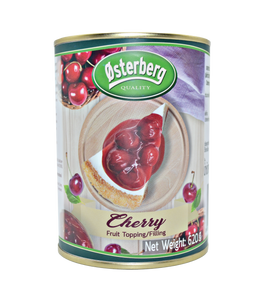 Osterberg Canned Cherry Fruit Topping & Filling 35% 620G