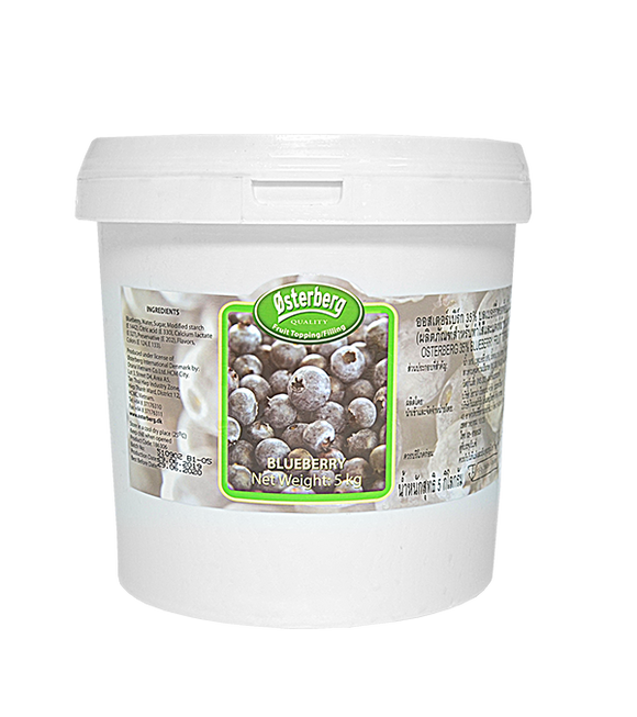 Osterberg 50% Blueberry Fruit Topping & Filling 5kg