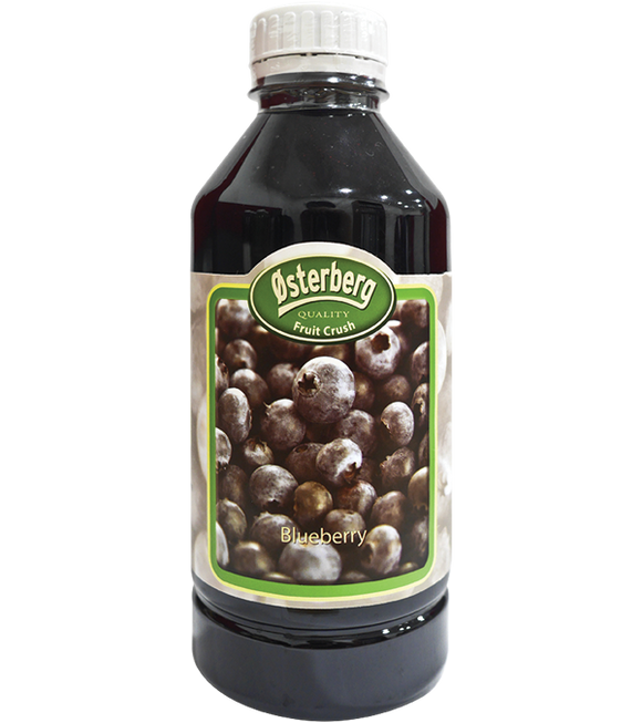 Osterberg Blueberry Fruit Crush 1L