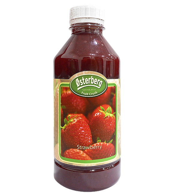 Osterberg Strawberry Fruit Crush 1L