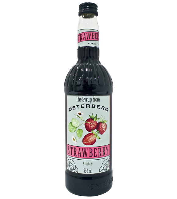 Osterberg Strawberry Syrup 750Ml