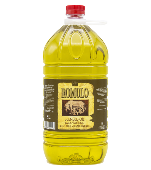 Romulo Blended Oil - Canola & Extra Virgin Olive 5L