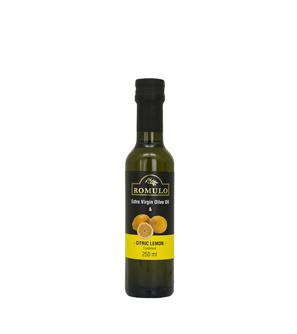 Romulo Condiment Extra Virgin Olive Oil & Citric Lemon Truffle 250Ml