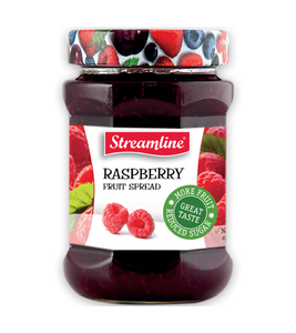 Streamline Rasberry Reduced Sugar Jam 340G