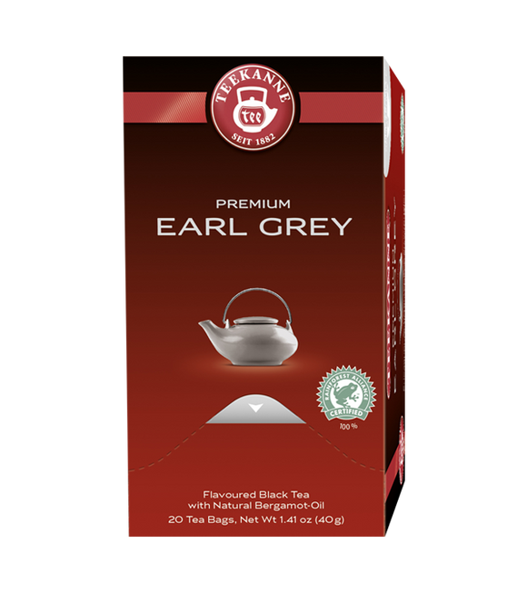 Teekanne Premium Selection Earl Grey Tea 40G