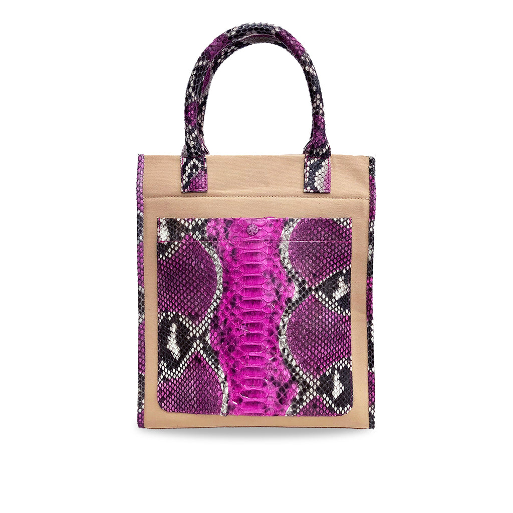 handcrafted_exotic_leather_python_skin_top handle_bag_Marco