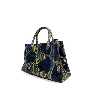 handcrafted_exotic_leather_python_skin_top handle_bag_Barnabé_Baby_Natural