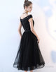 A-Line V-Neck Prom Dress with Appliques