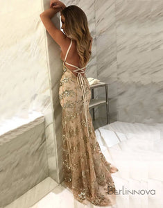 Sexy Lace Popular Fashion Mermaid Prom Dresses