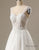 Tulle Strap Appllique Wedding Dress