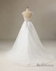 Applique Beading Ball Gown Wedding Dress