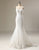 Mermaid Sweetheart Applique Wedding Dress