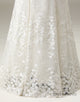Embroidered Lace Sweetheart Wedding Dress