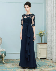 Chiffon Mother of The Bride Dresses with Ruffle