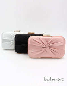Classic Silk-Like Closure Clutch Purse