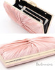 Pink Chain Clutch Bag