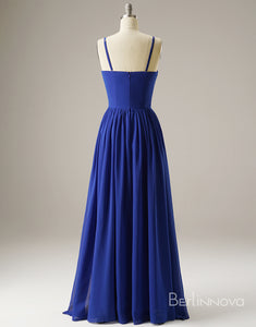 Gorgeous Pleating Long Evening Dress Prom Dress