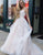 Princess Long Light Prom Dress with Appliques