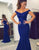 Mermaid Prom Dress Royal Blue Dress