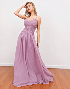 Unique Fashion Pink Long Prom Dress Evening Dress