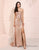 Glitter Sequin Prom Dress Side Split Long Evening Dress