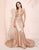 Glitter Sequin Mermaid Prom Dress Pink Halter Evening Dress