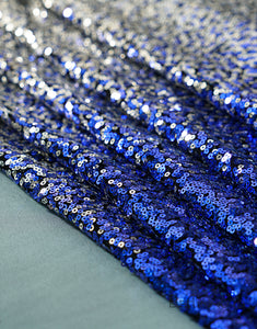 Ombre Sequin Fabric Swatch