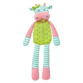 Organic Farm Buddies Belle Cow Plush Toy
