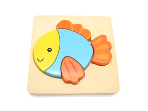 Chunky fish puzzle