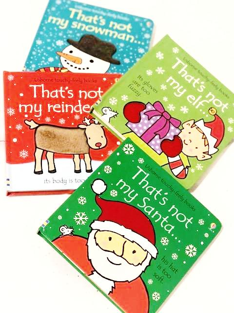 "Christmas Theme ""That's Not My ..."" Books"