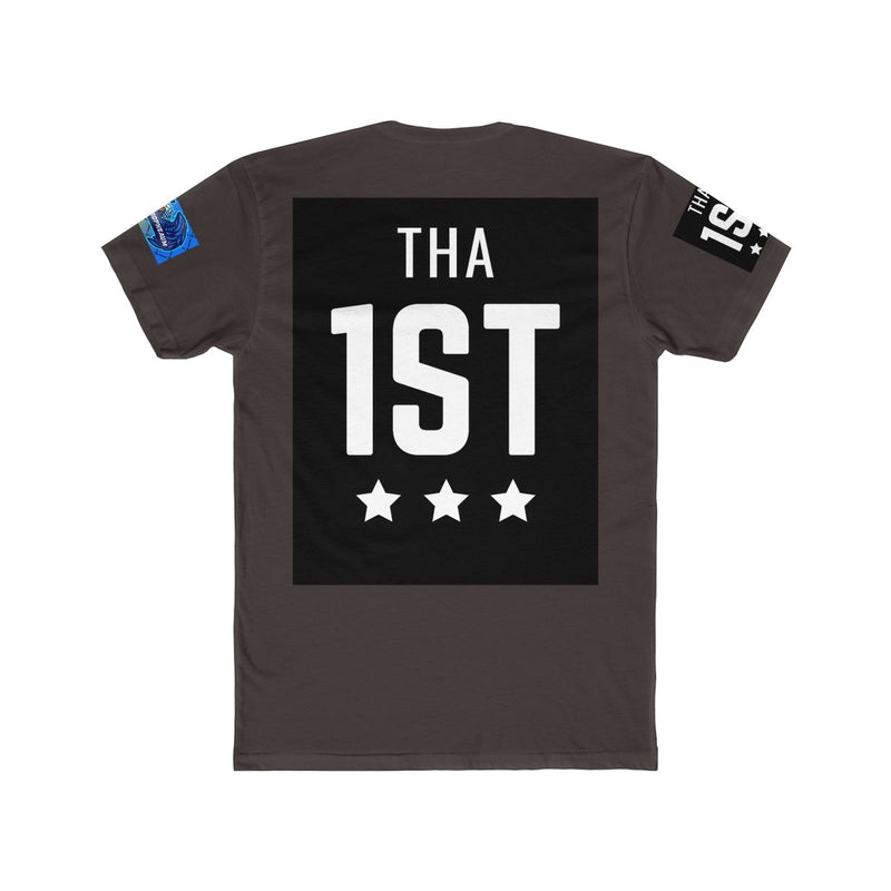 Be Tha 1st Cotton Crew Tee - TeamTropheaumStore