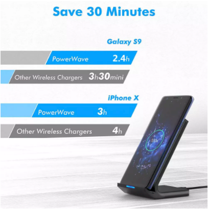 Qi Wireless Charger Stand!