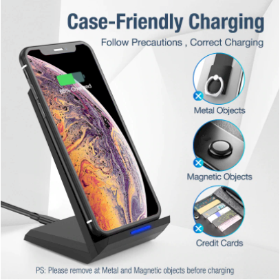1 Qi Wireless Charger Stand!