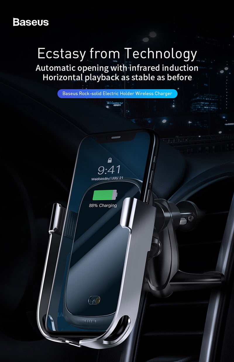 THE QUICK CAR WIRELESS CHARGING STAND - TeamTropheaumStore