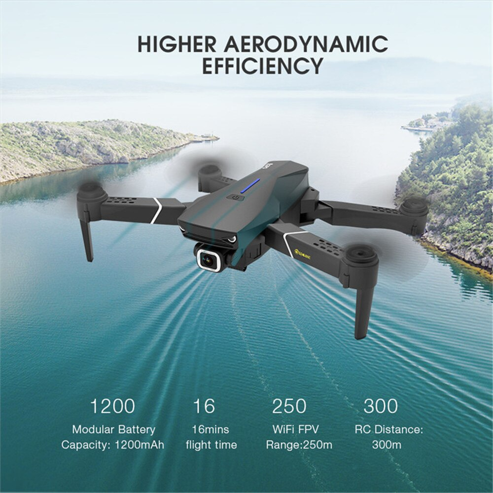 4K HD foldable Remote Control Drone with Camera WiFi GPS By Horizon Care