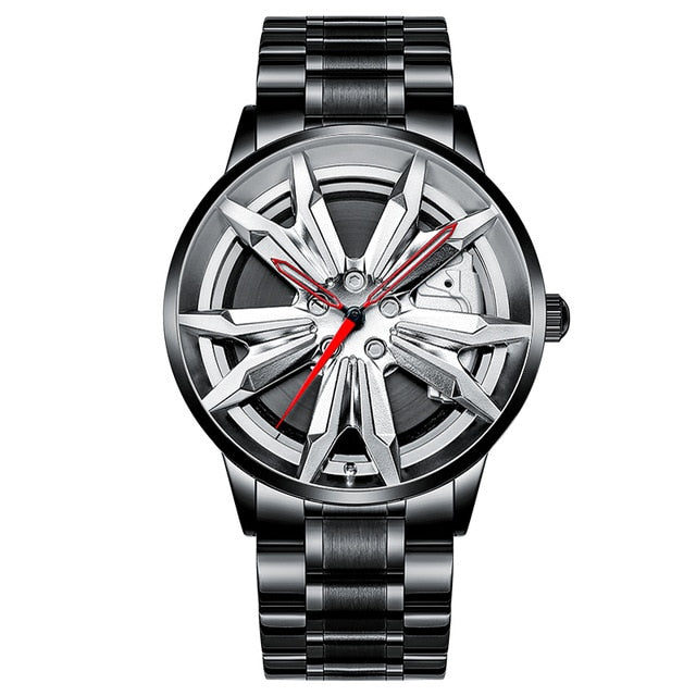1 Hyper Series Luxury New Man Fashion Car Rim Watch