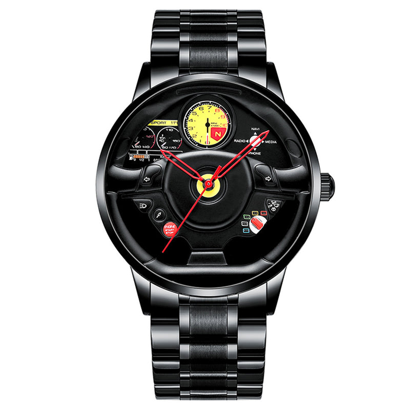 1 Luxury New Man Fashion Car Rim Watch