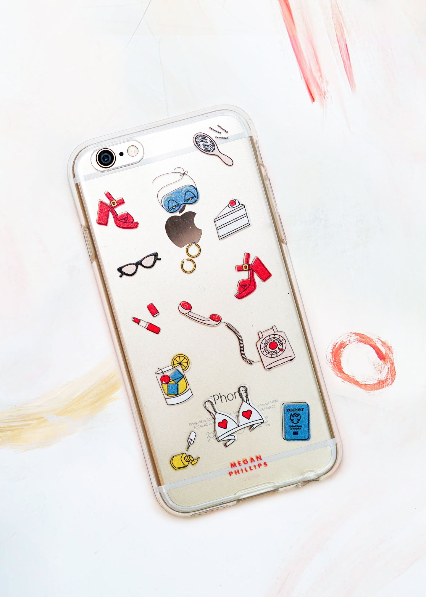 Lady Phone Case