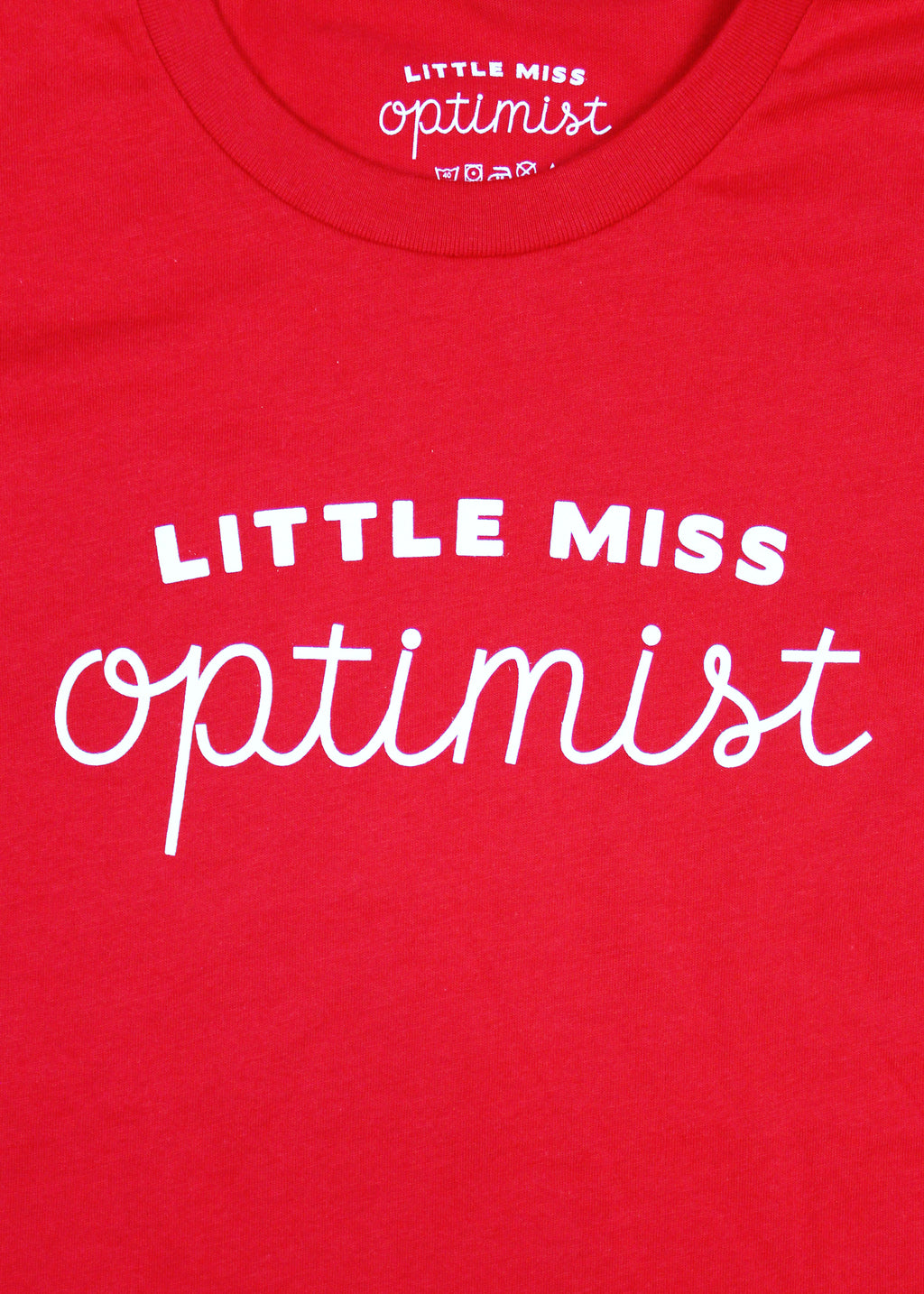 Little Miss Optimist Kids Tee