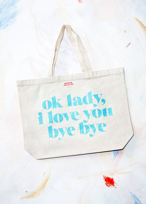 Ok Lady Tote Bag