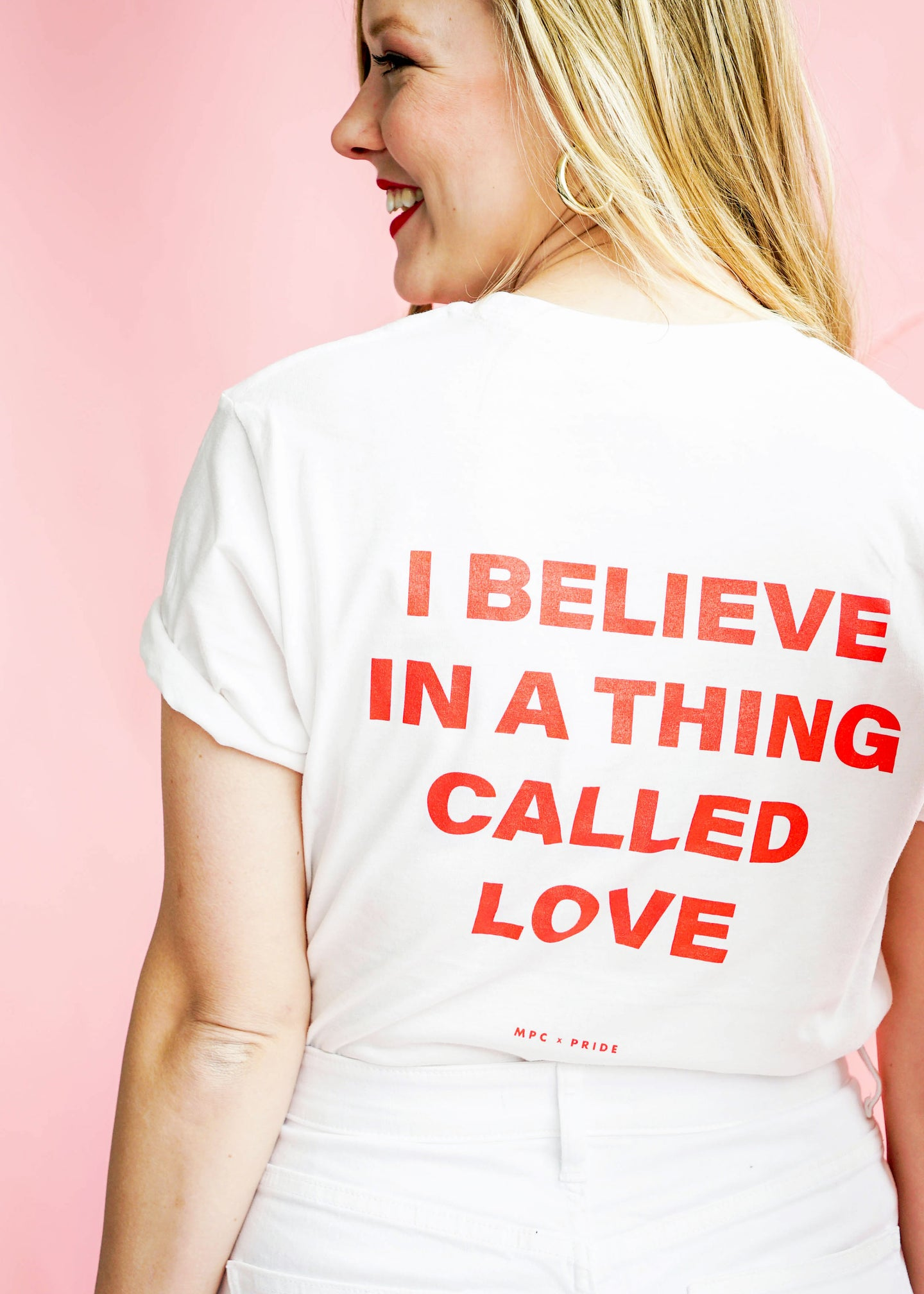 Thing Called Love White Tee