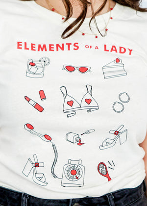 Elements of a Lady Tee