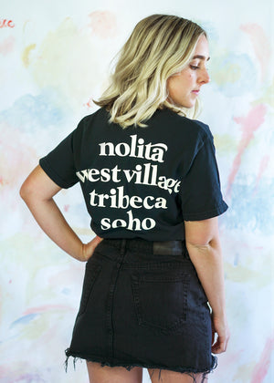 Neighborhood Tee in Black