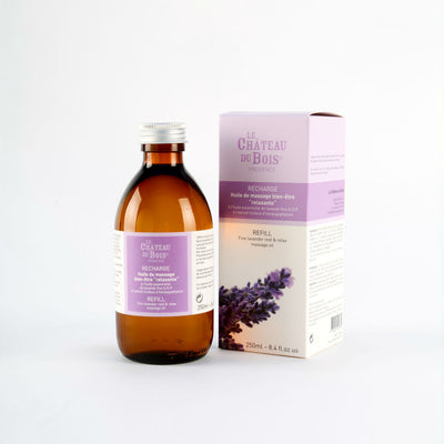Fine Lavender Rest & Relax Massage Oil 250ml