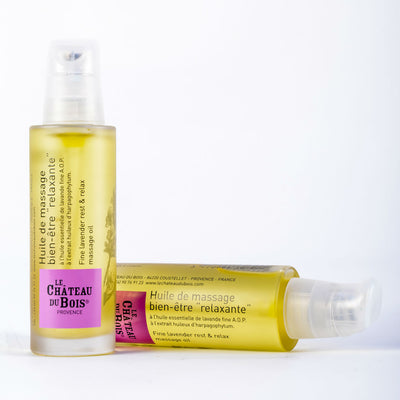 Fine Lavender Rest & Relax Massage Oil 50ml