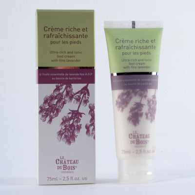 Ultra-rich and Tonic Lavender Foot Cream 75ml